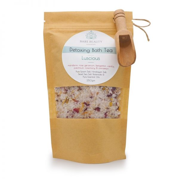 bath tea, bath salt, salts, himalayan salt, dead sea salts, epsom salts, essential oils,