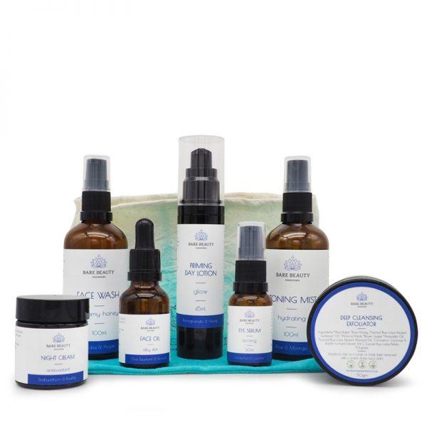 skin care packs, skin care sets, deluxe skin care set
