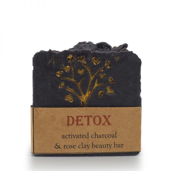 detox soap, face soap, beauty bar, charcoal soap,