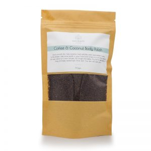 coffee scrub, body scrub, body polish
