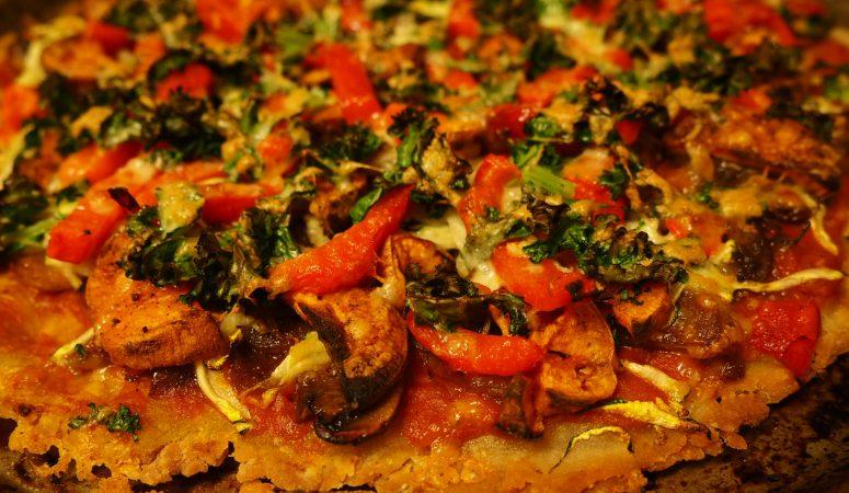 Simple & Nutritious Buckwheat Pizza Base