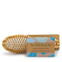 Bamboo Hairbrush & Shampoo Bar Duo