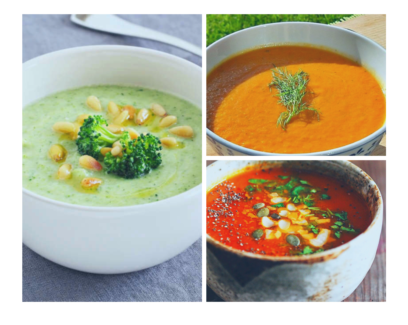 Nourishing soup recipes