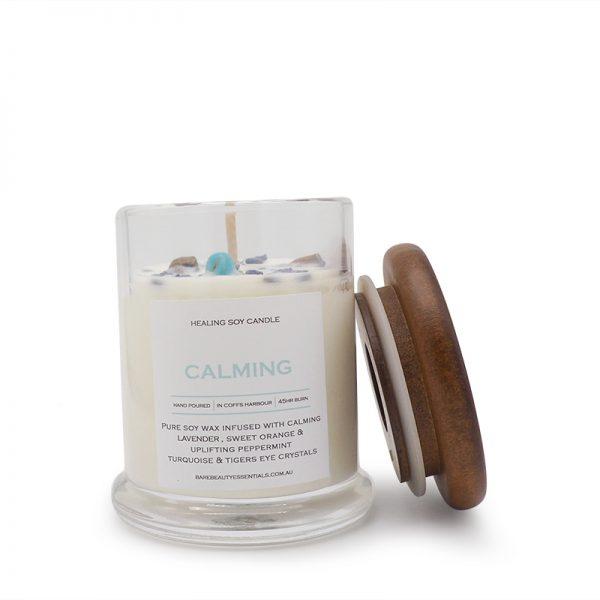 Calming healing candle