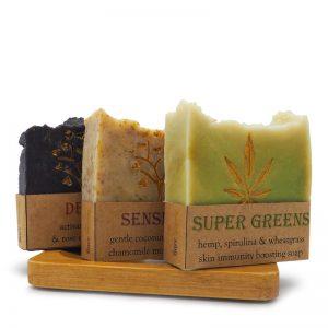 soaps, soap bundle, soap holder, bamboo, soap dish, handmade soap