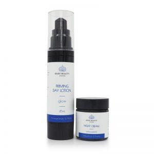 day and night cream, day and night duo, bundles, day cream, lotion, night cream, antioxidants, primer